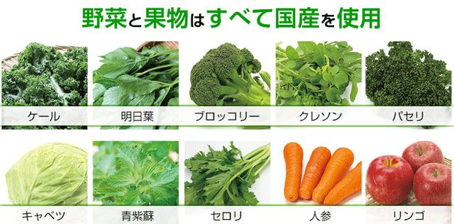 おいしい青汁森永製菓成分